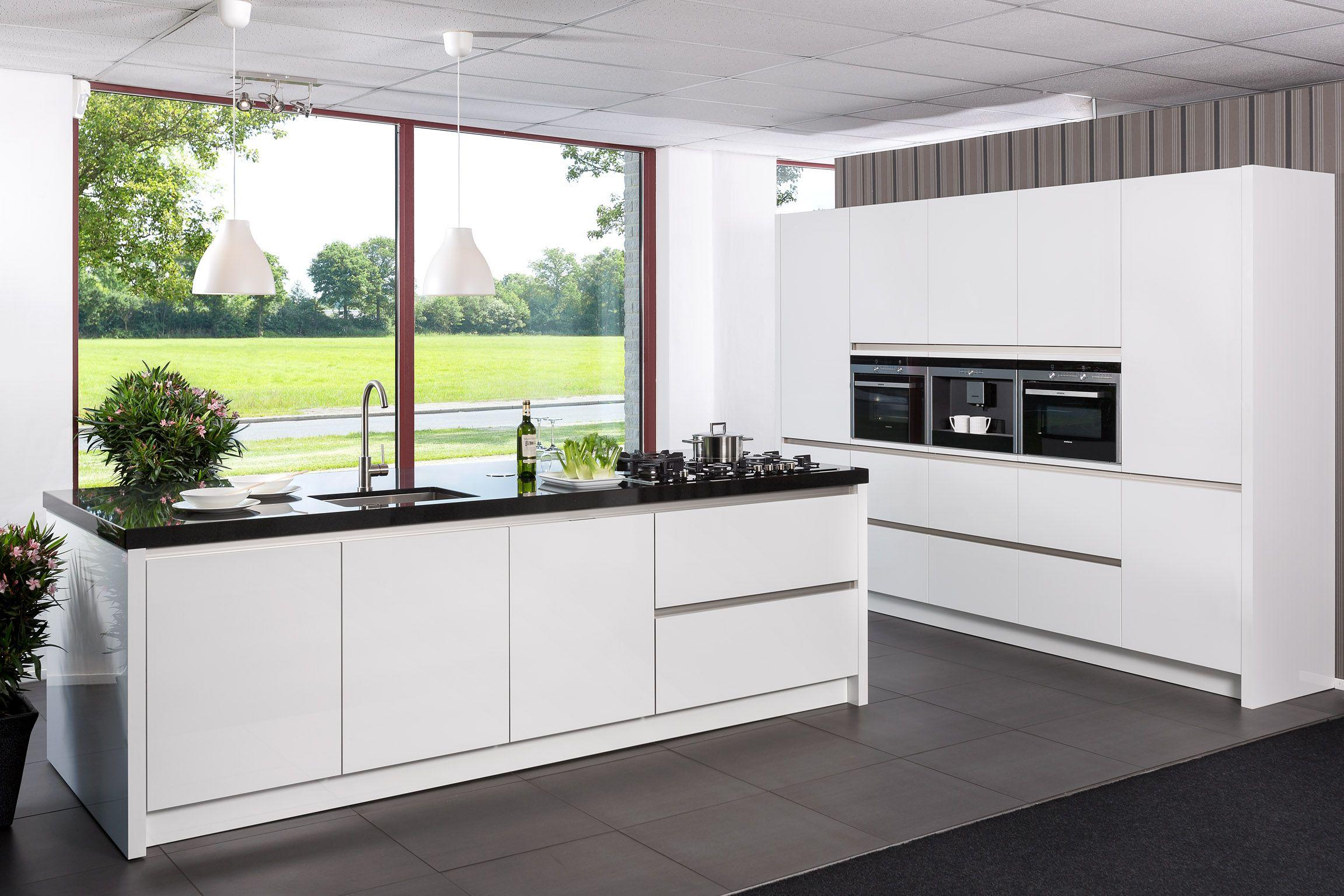 Siemens Keukens Nederland : Keukens greeploze siemens keuken